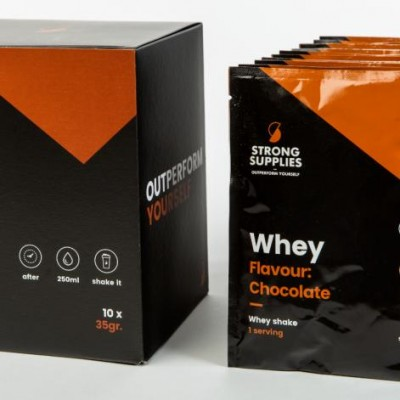 Strong Supplies Whey Protein Chocolate