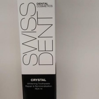 Swiss Dent crystal tandpasta 50ml + tandenborstel soft
